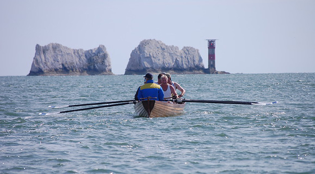 Rowing Round the Island