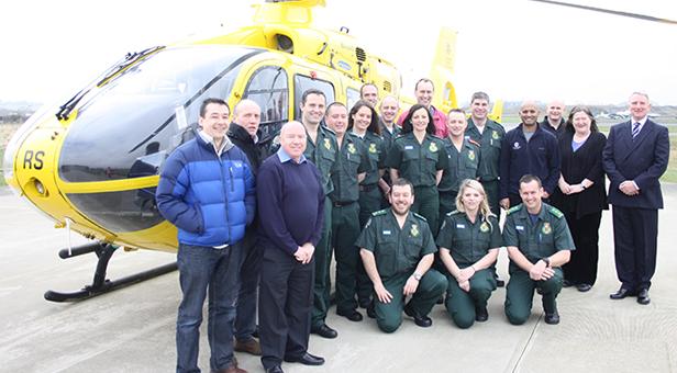 Paramedics employed by South Western Ambulance Service NHS Foundation Trust