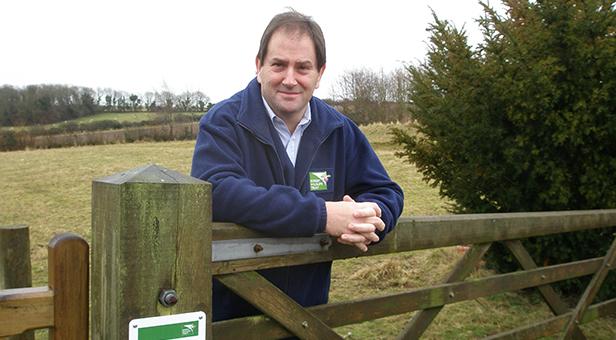 Dorset Wildlife Trust Chief Executive Simon Cripps