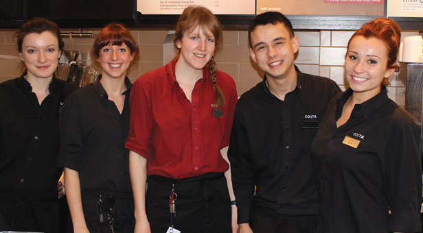 Costa Coffee Team