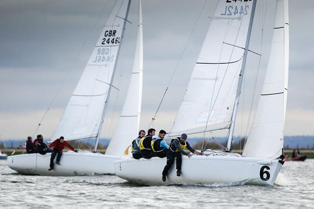 Match Racing in action © Paul Wyeth & RYA 2012