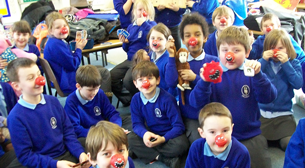 Children at Hillside Community First School