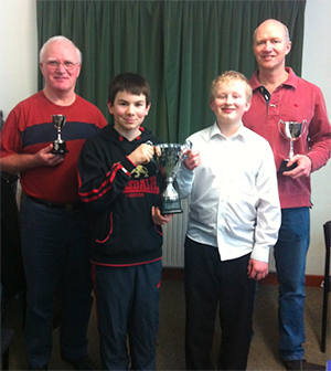 Verwood Concert Brass players of the year