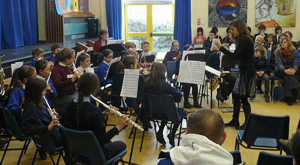 Ferndown Upper School musical performance
