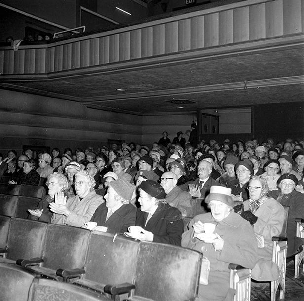 OAP Film Show in the Regent Centre auditorium