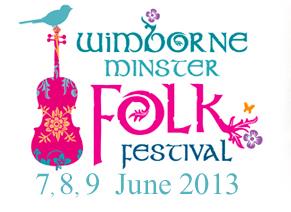 Wimborne Folk Festival logo