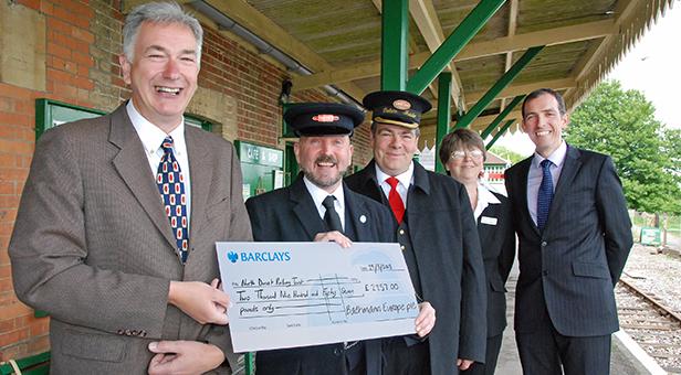 Shillingstone railway project team