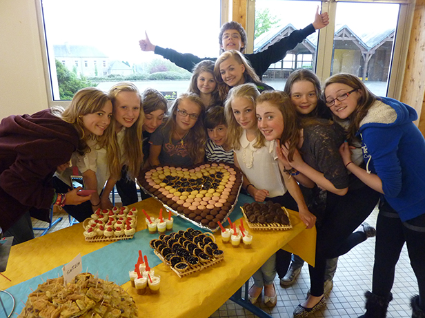 Students of the AMS French Exchange