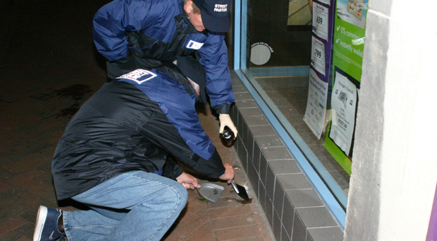 PHOTOS: STREET PASTORS AT WORK