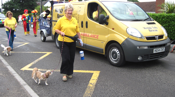 PHOTO: Waggy Tails Rescue at Ferndown Carnival