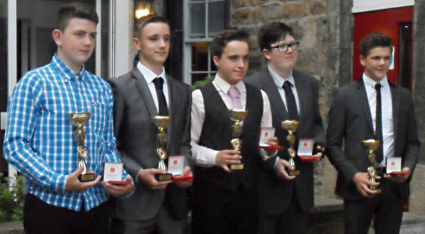 Ferndown Jitsu Club are pictured showing off the silver trophies they won in the World Jitsu Foundation International Championships