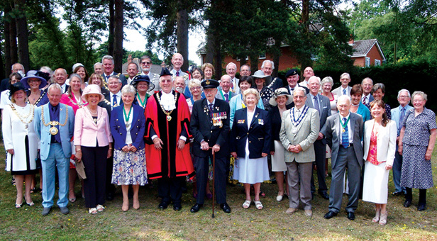Ferndown Town Council Civic Service 2013