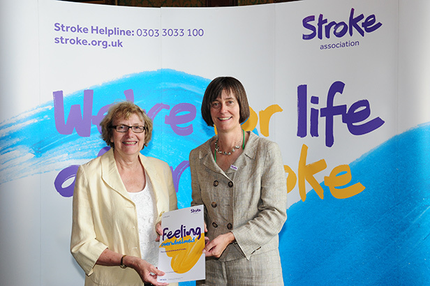 Annette Brooke, MP for Mid Dorset and North Poole, joined forces with the Stroke Association