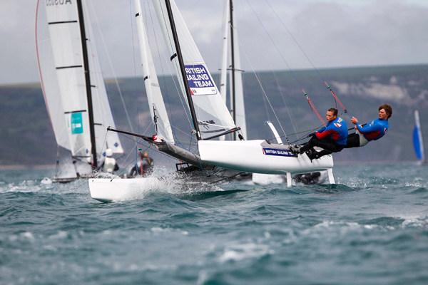 Olympic Sailing at Weymouth