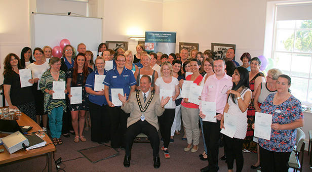 Care staff from Bournemouth, Dorset and Poole