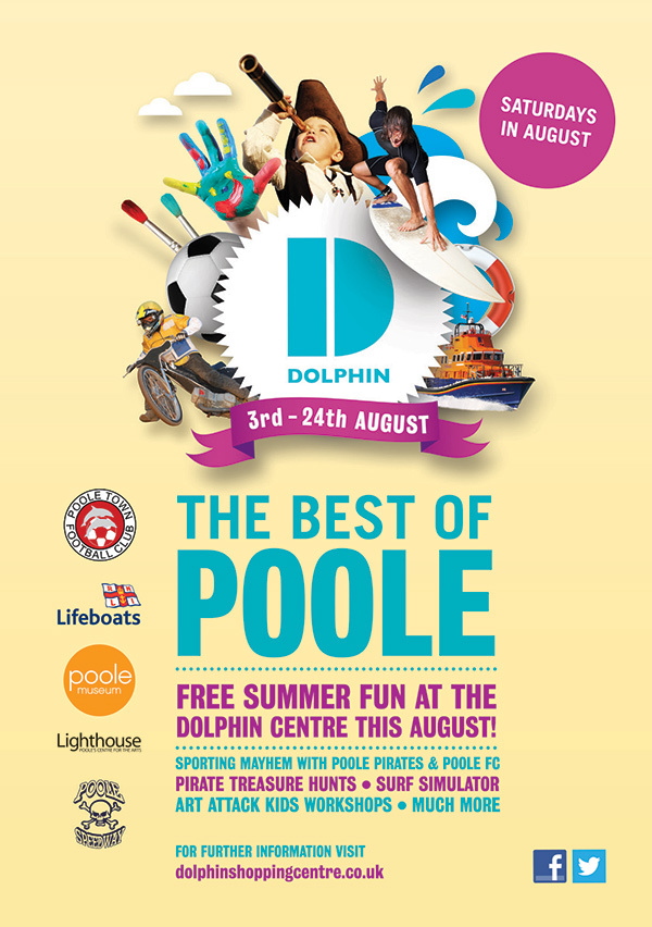 Event poster for Dolphin Centre