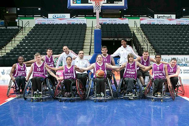 England South Wheelchair Basketball Team