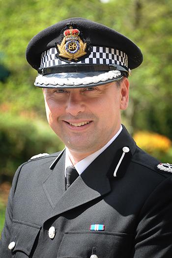 Photo of Dorset Police Deputy Chief Constable James Vaughan