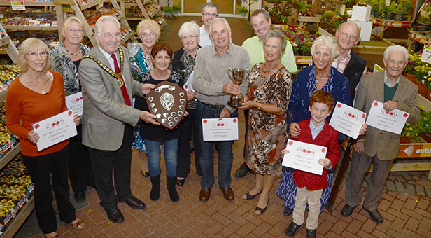 Ferndown in Bloom prize winners photo