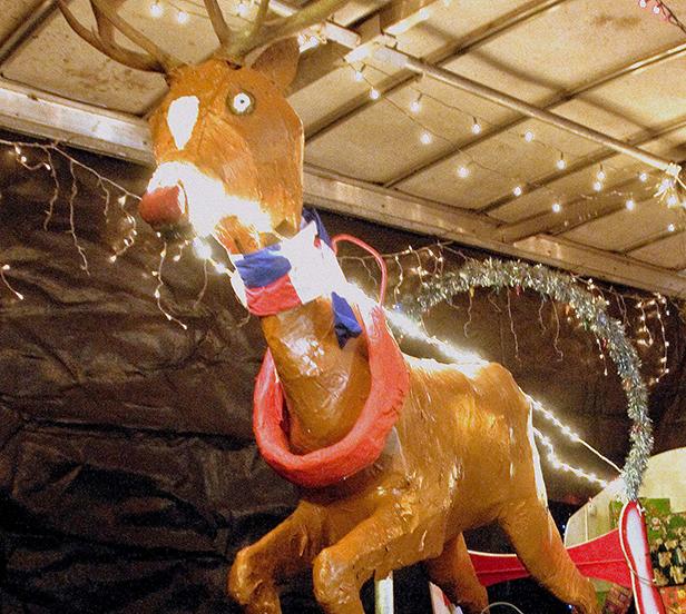 Rudolf the red nose raindeer