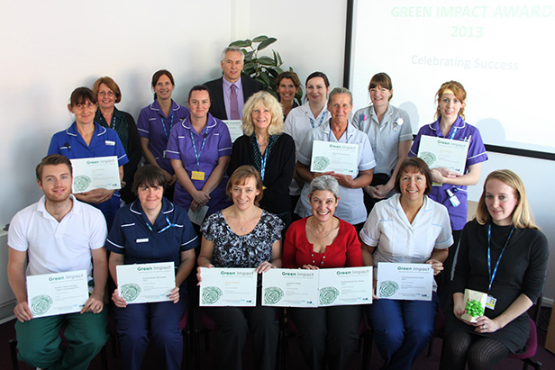 Staff at The Royal Bournemouth and Christchurch Hospitals NHS Foundation Trust