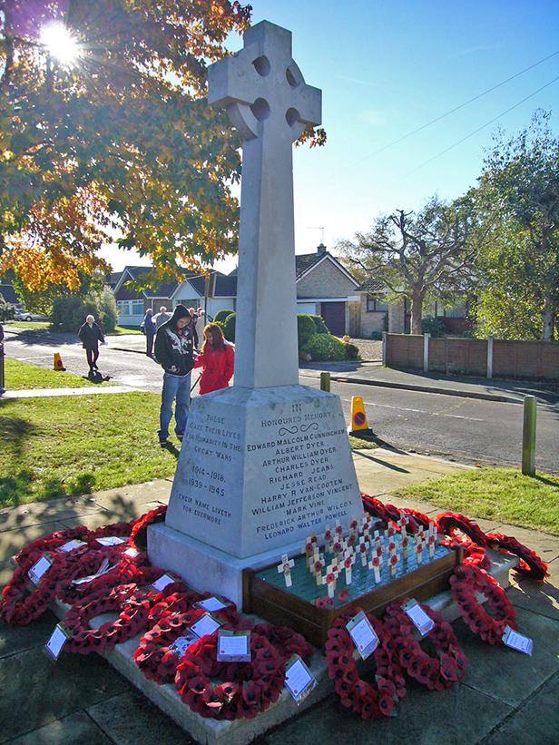 West Moors memorial