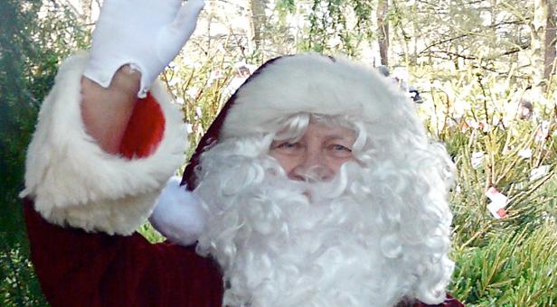 Segway-Santa