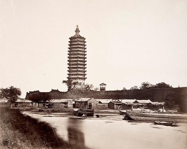 Pagoda near Tungchan