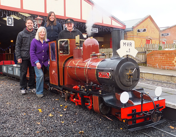 Joint winner: Moors Valley Railway