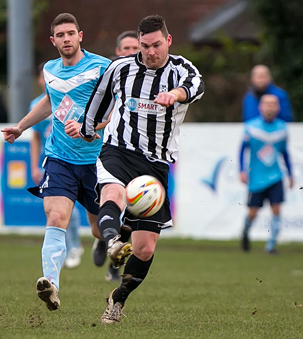 Wimborne Town forward James Stokoe