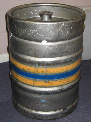 Photo of beer keg
