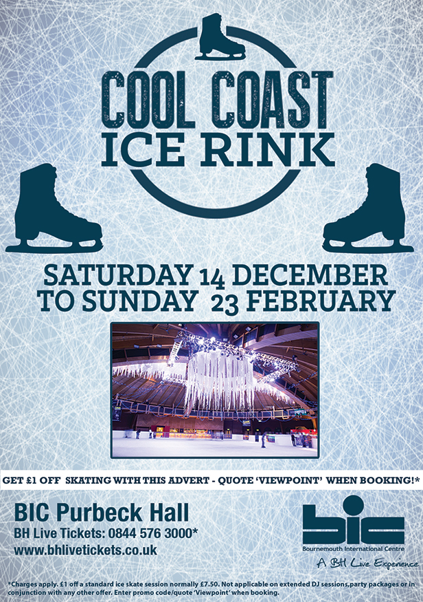 Cool Coast Ice Rink flyer