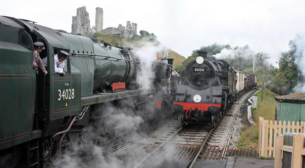 Swanage Railway in action © Andrew PM Wright