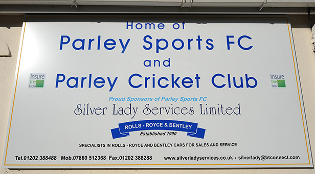 Parley Sports Club sign