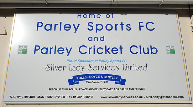 Parley Sports Club sign