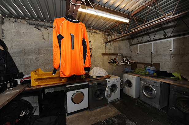 Washing machines at Parley Sports Club