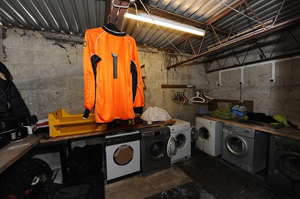 Washing machines at Parley Sports Club
