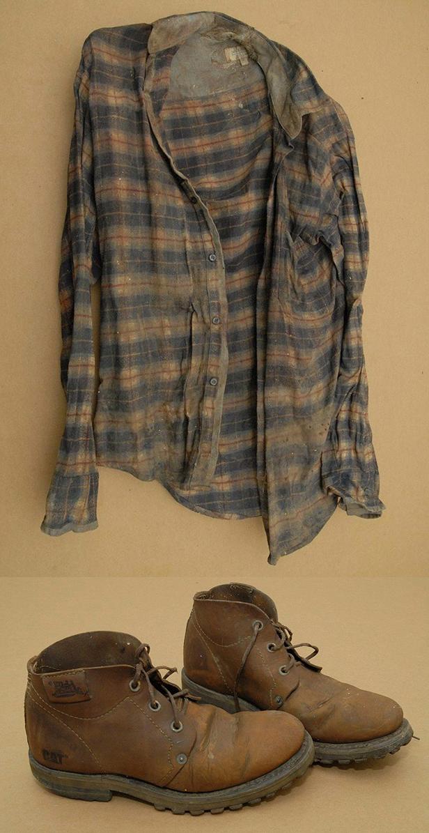 Avon Man Shirt & Boots
