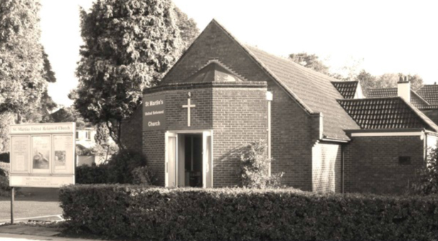 St Martins United Reform Church in West Moors