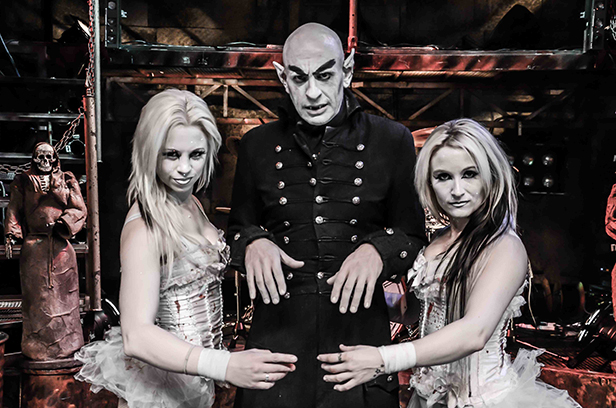 Camp Dracula Sinister Sisters