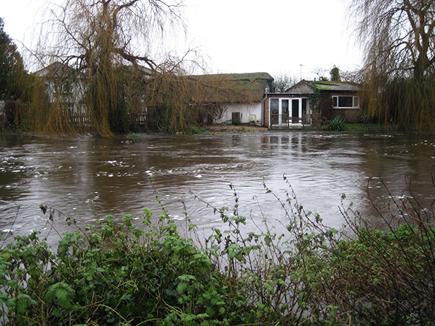 Flood in Ringwood
