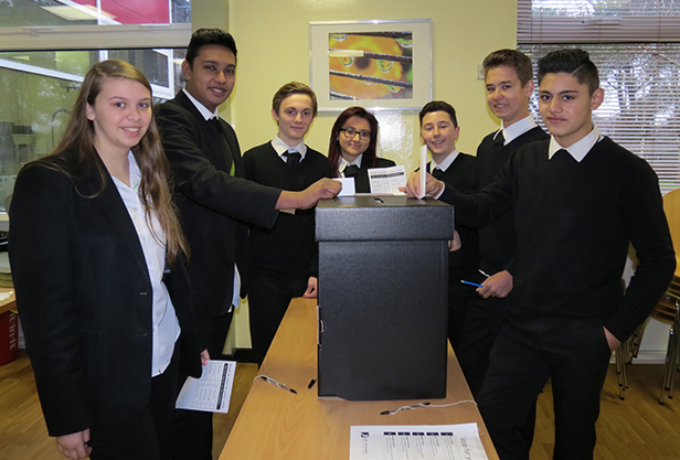 Ferndown students make their mark on democracy