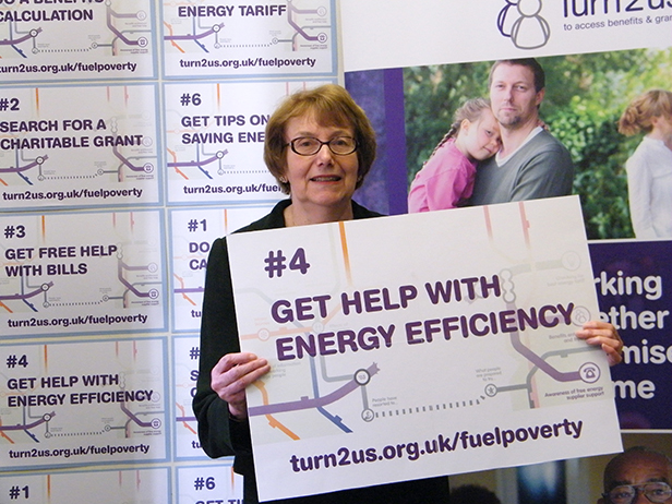 Annette at the event in Parliament