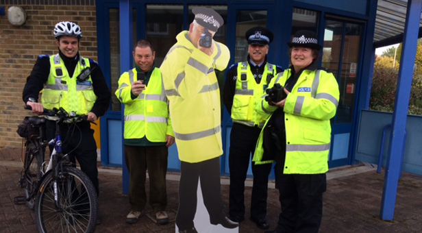 Community Speed Watch in action