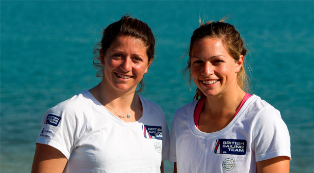Sailing sisters Kate and Lucy from Poole will be taking part in the event