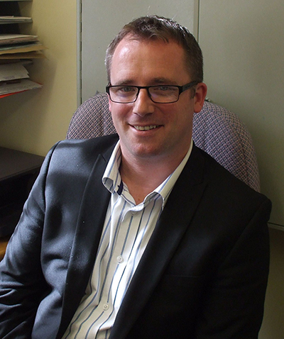 Andy Bryant, General Manager of the Barrington Centre