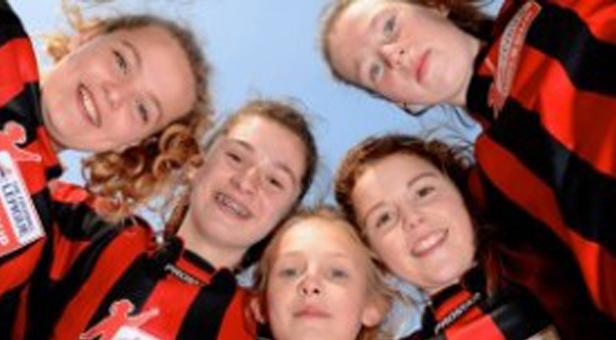 Broadstone Middle School Girls' football team