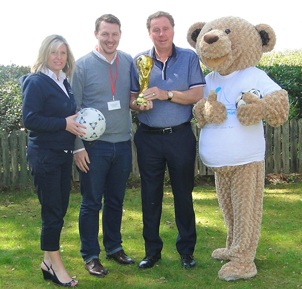 Sally Goodenough from Lewis-Manning, Ryan Woolfenden from Leader & Co, Harry Redknapp and Lewis Bear