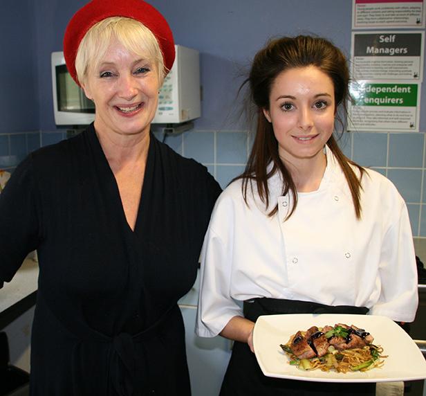 Lesley Waters & Rebecca Summers