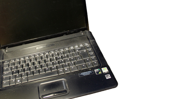 Stock image of a laptop not connected to the investigation